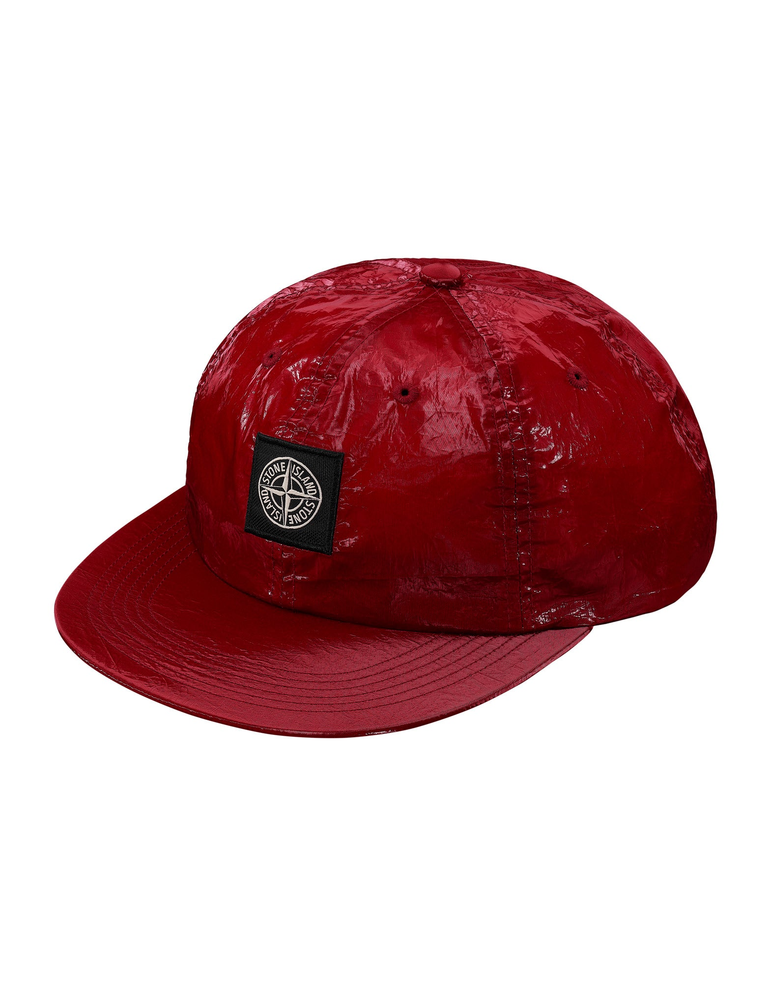 902S5 NEW SILK LIGHT Cap in Red