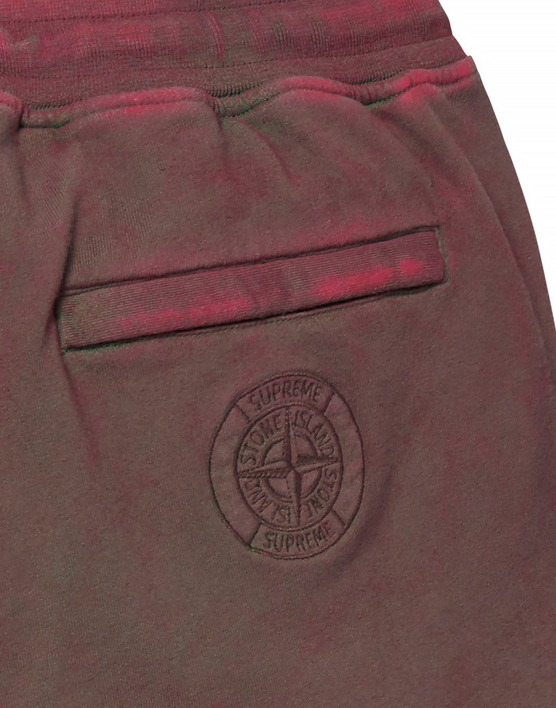 603S2 DUST COLOUR Shorts in Red