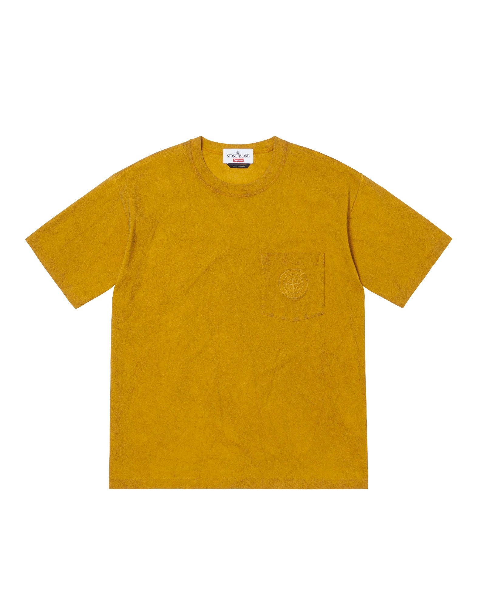 201S1 DUST COLOUR T-Shirt in Yellow