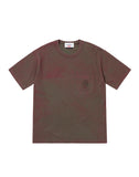 201S1 DUST COLOUR T-Shirt in Red