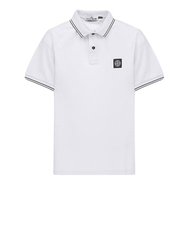 22S18 Patch Program Polo Shirt in White