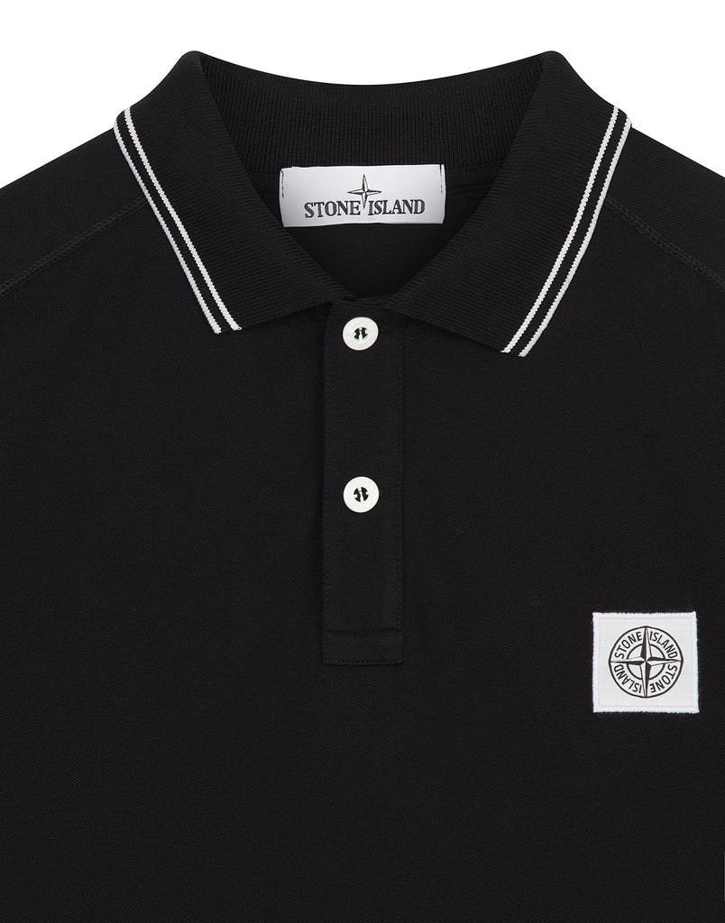 20616 Polo Shirt in Black