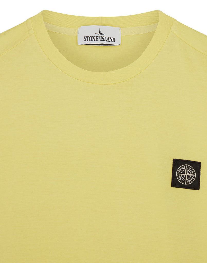 24113 Short Sleeve T-Shirt in Yellow