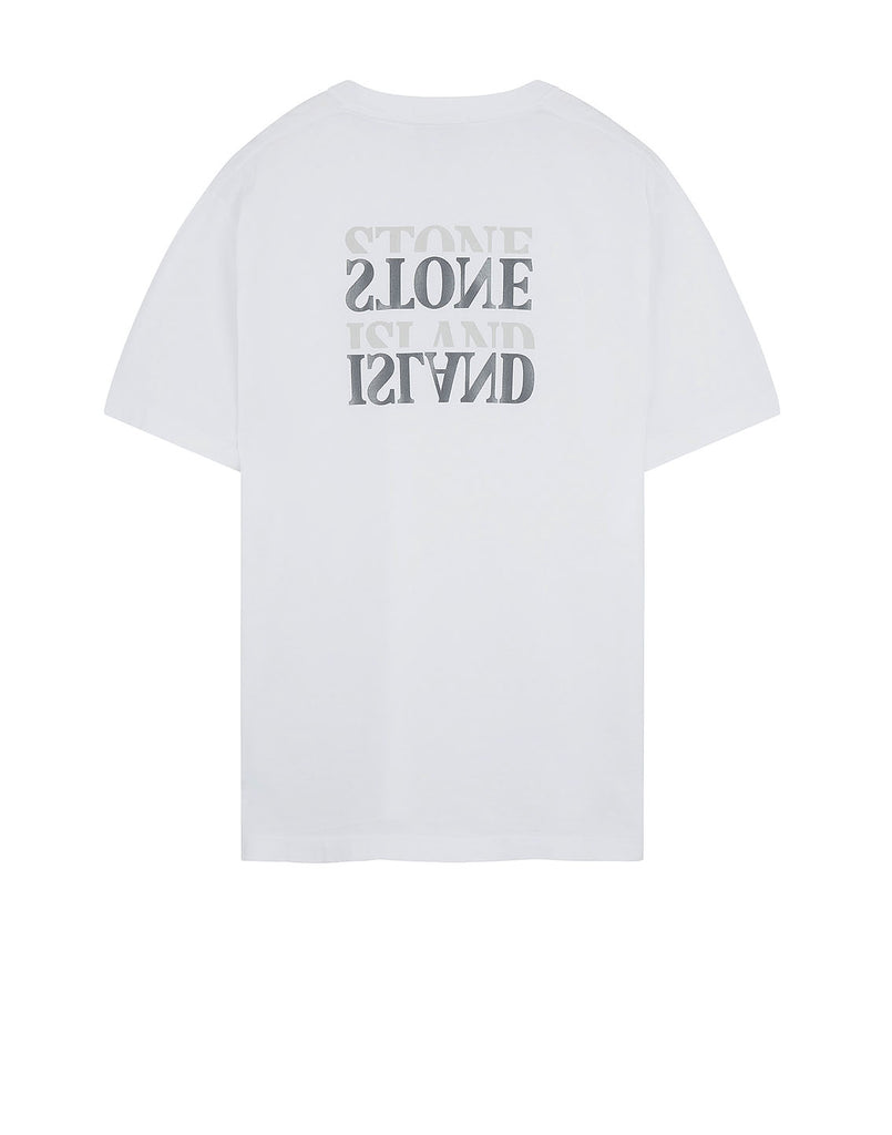 2NS89 'GRAPHIC SEVEN' T-Shirt in White