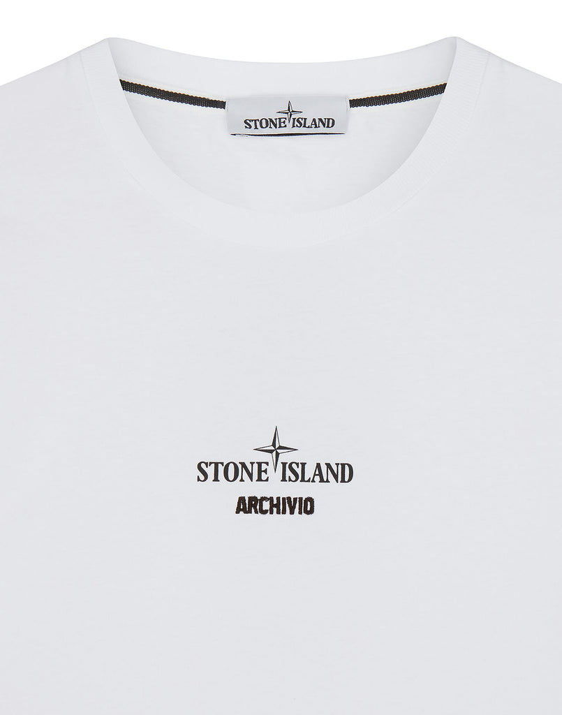 2NS91 STONE ISLAND ARCHIVIO PROJECT_TELA STELLA in White