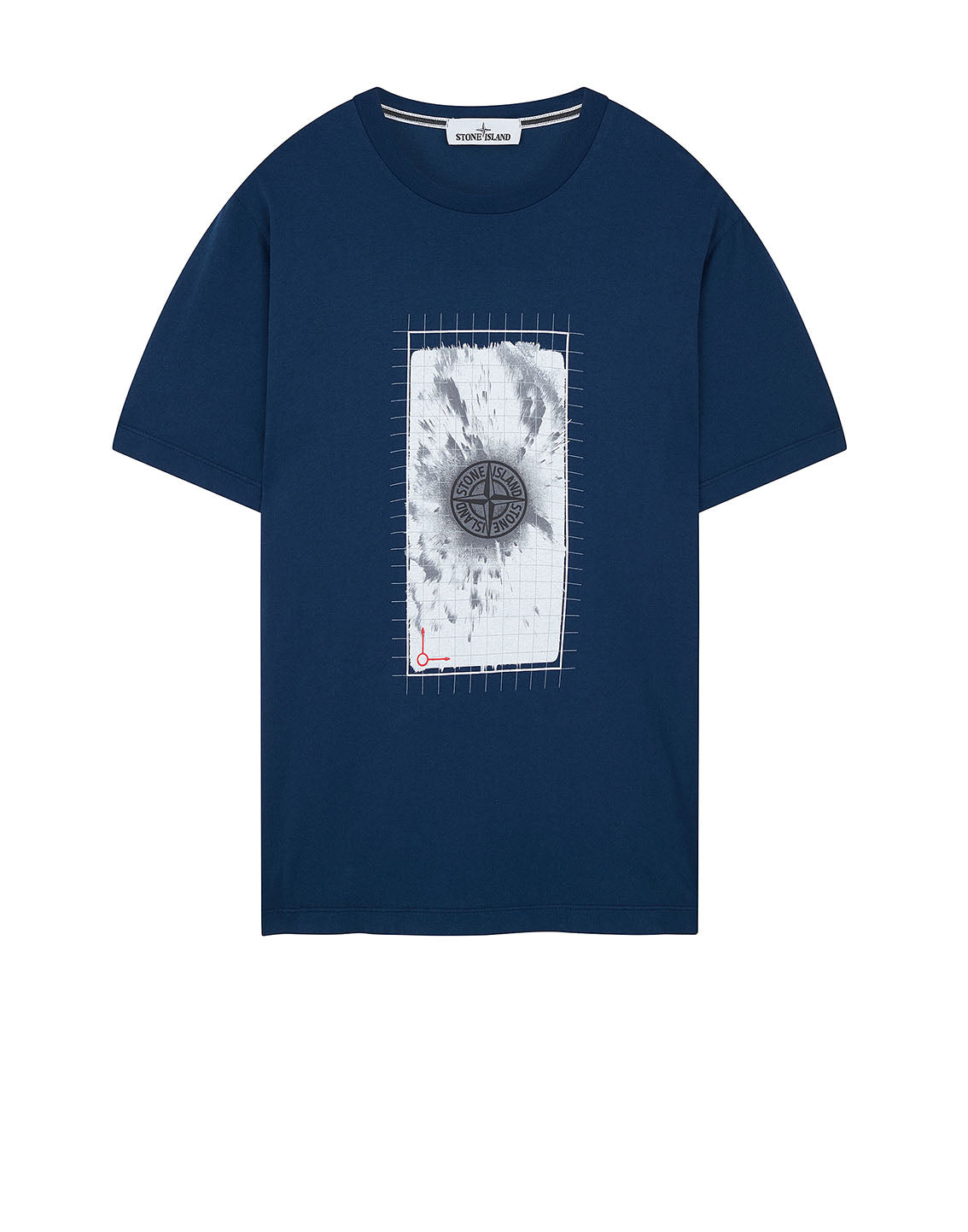 2NS87 'GRAPHIC FIVE' T-Shirt in Blue