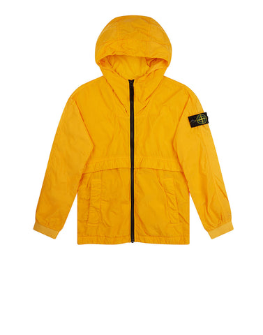 40632 Hooded Jacket in Yellow