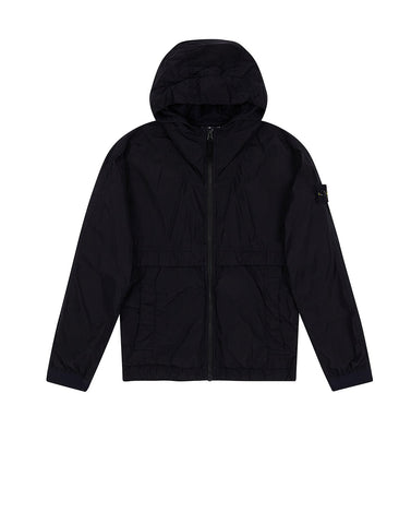 40632 Hooded Jacket in Navy Blue