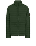 41025 LOOM WOVEN DOWN CHAMBERS STRETCH NYLON-TC: Down Blouson in Dark Forest