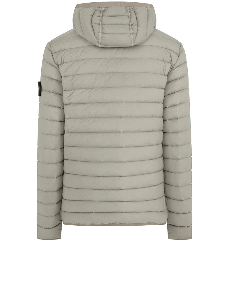 41125 Real Down Jacket in Dove Grey