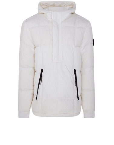 41323 GARMENT-DYED CRINKLE REPS NY DOWN Jacket in White