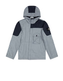 41336 GARMENT DYED PLATED REFLECTIVE Jacket in Navy Blue