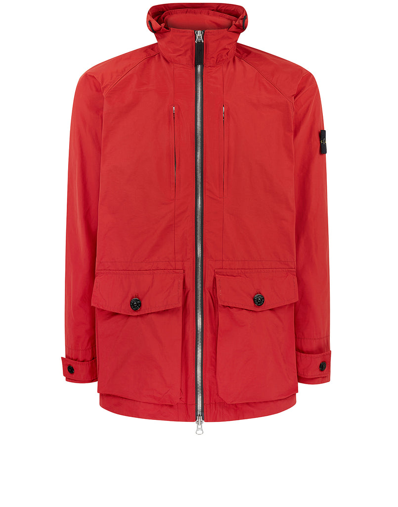 41622 MICRO REPS Jacket in Brick Red