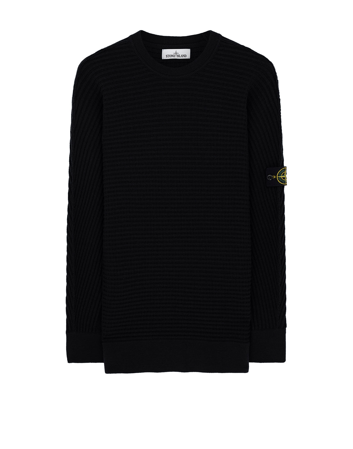 502A1 Crewneck Jumper in Black