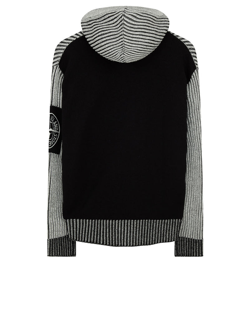 539D1 Bi-Colour Knit in Black
