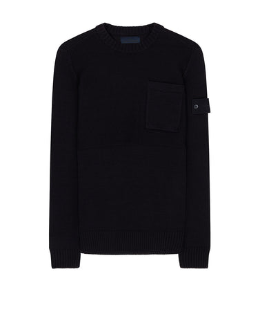 569FA GHOST PIECE Knit in Navy Blue