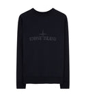 60151 Crewneck Fleece Sweatshirt in Navy Blue