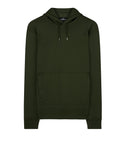 60207 UTILITY HOODIE WITH STRATA POCKET Sweatshirt in Bottle Green