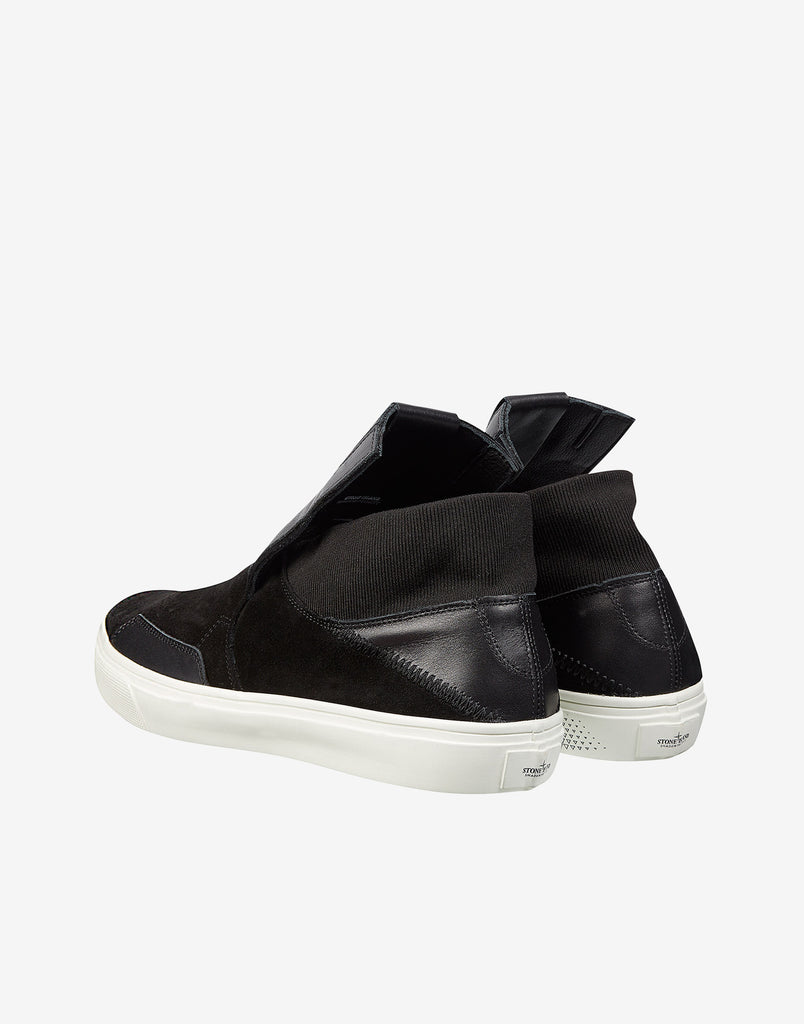 S0122 Step-On Slip-On in Black