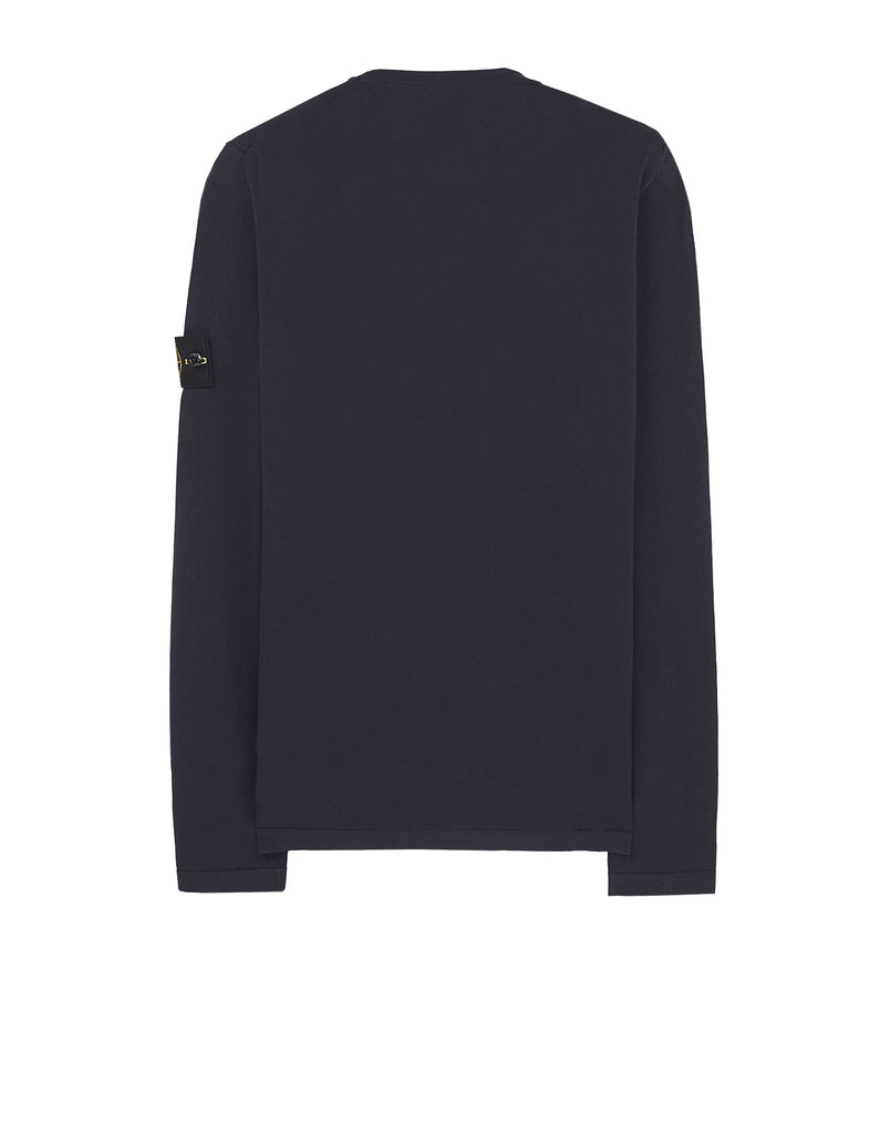 22819 Lightweight Long Sleeve T-shirt in Navy Blue