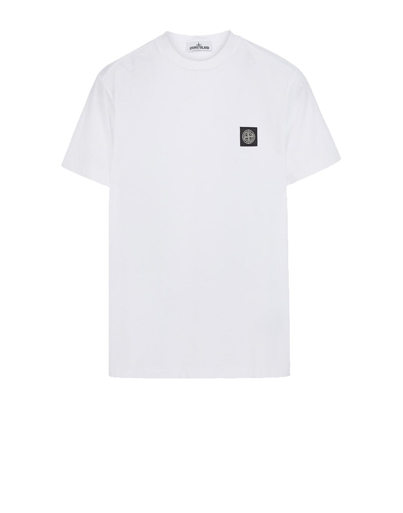 24141 Small Logo Patch T-Shirt in White