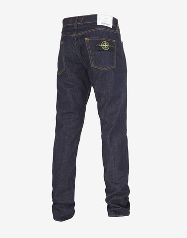 J4Bi1 13oz Denim Regular Tapered Fit Jeans in Wash