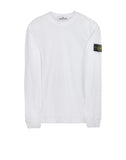 22819 Lightweight Long Sleeve T-shirt in White