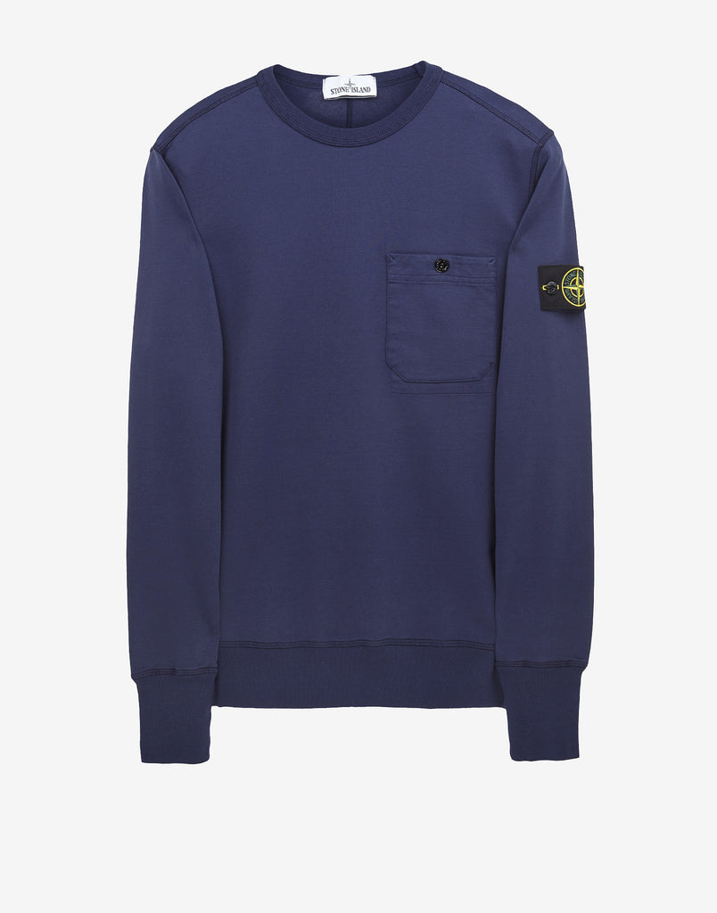 62643 Crewneck Mako Sweatshirt in Blue