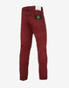 J1BZM COTTON SATIN Trousers in Red