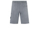 64651 Fleece Shorts in Grey