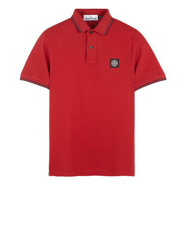 22S18 Polo Shirt in Red