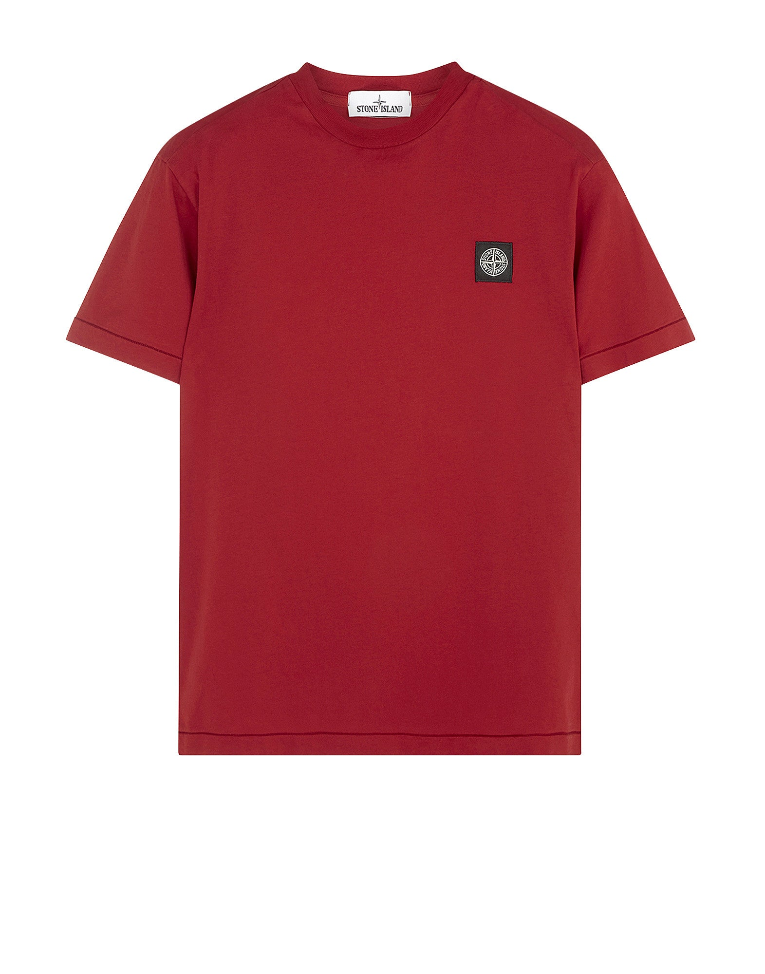 24141 Small Logo Patch T-Shirt in Red