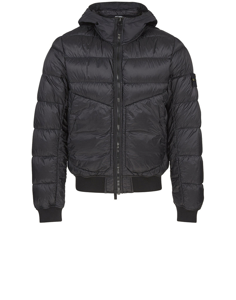 41624 GARMENT DYED DOWN 26GR X SQM-NY Jacket in Black
