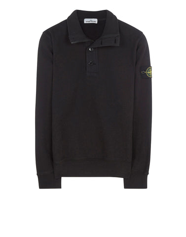 65020 Zip Sweatshirt in Black