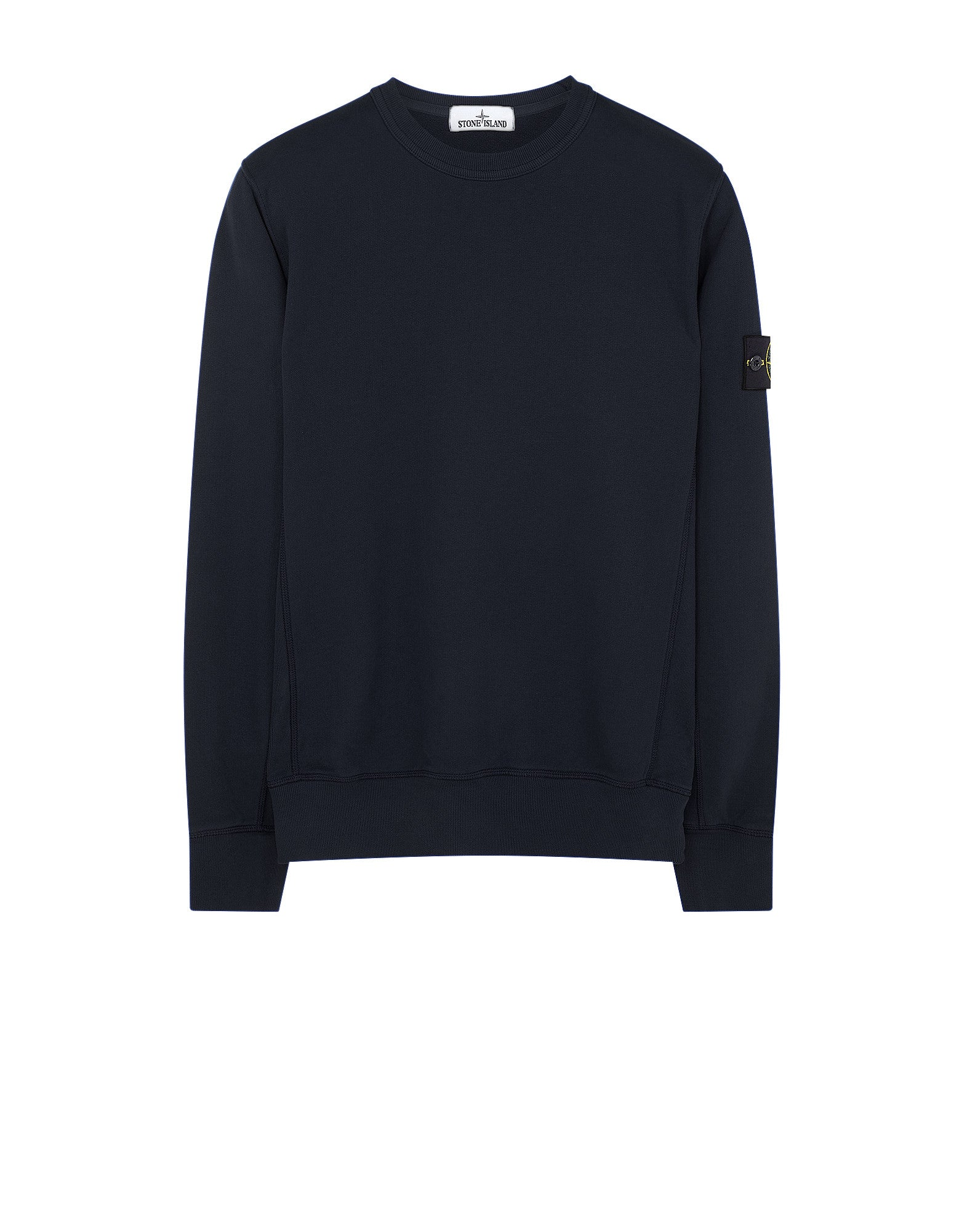 65320 Garment-Dyed Sweatshirt in Navy Blue
