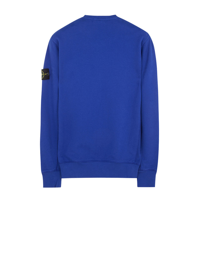 65320 Garment-Dyed Sweatshirt in Blue