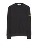 65320 Garment-Dyed Sweatshirt in Black