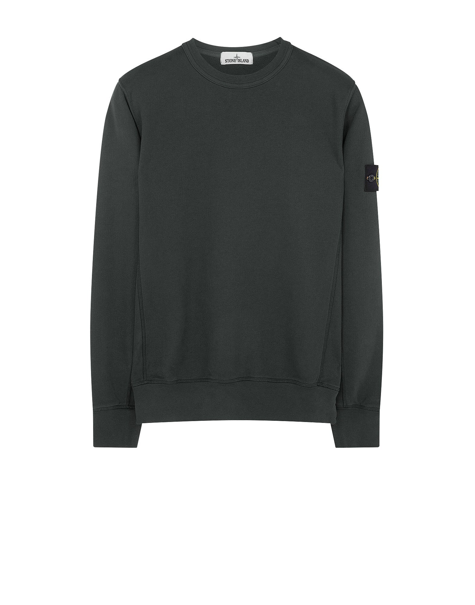 65320 Garment-Dyed Sweatshirt in Dark Green