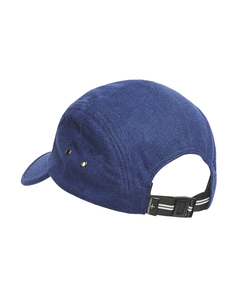 99074 Reflective Print Cap in Blue