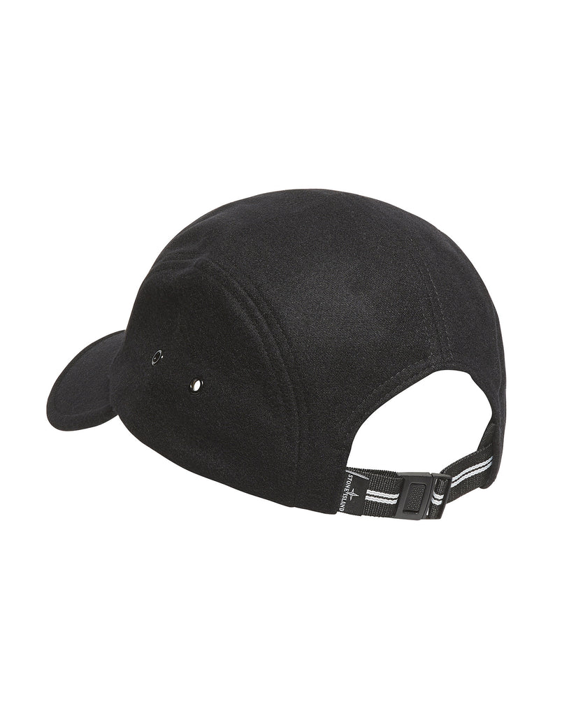 99074 Reflective Print Cap in Black