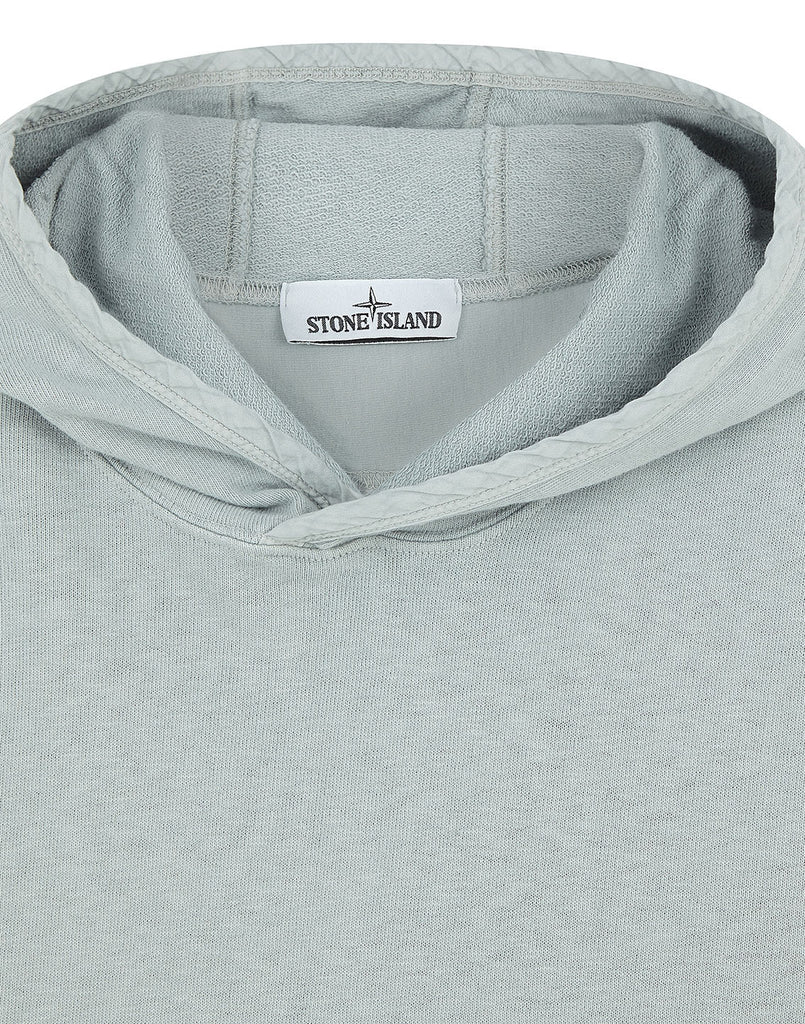 65660 OLD DYE TREATMENT Sweatshirt in Pearl Grey
