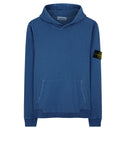 65660 OLD DYE TREATMENT Sweatshirt in Blue