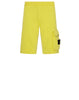65860 'OLD' DYE TREATMENT Fleece Shorts in Yellow