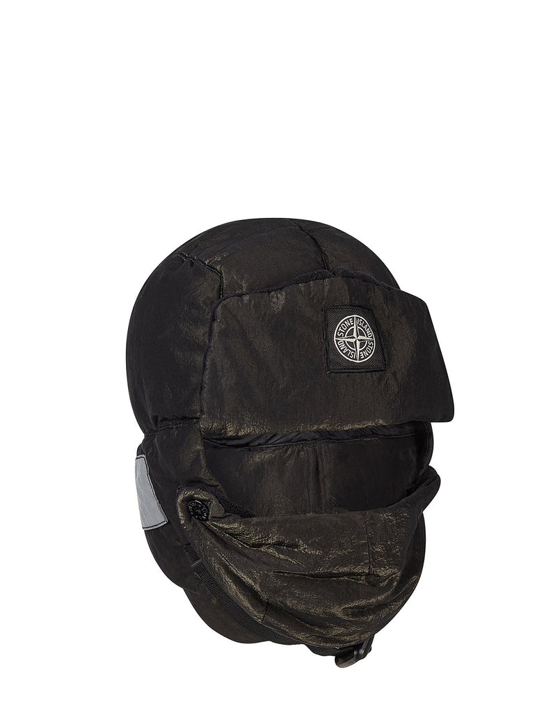 99211 COTTON METAL Hat in Black