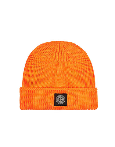N02B4 FLUO Beanie in Orange