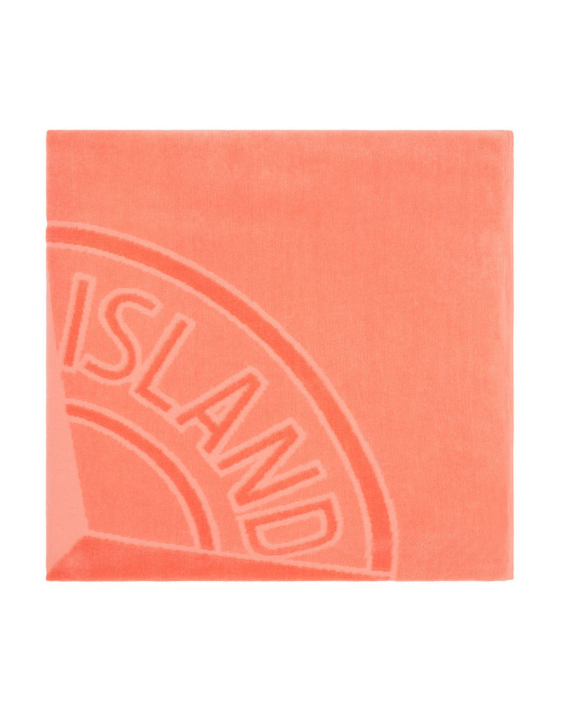 93177 Beach Towel in Orange Red