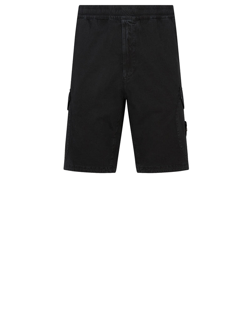 L0804 Bermuda Shorts in Black