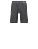 L0299 PLATED REFLECTIVE WITH DUST COLOUR FINISH Bermuda Shorts in Grey