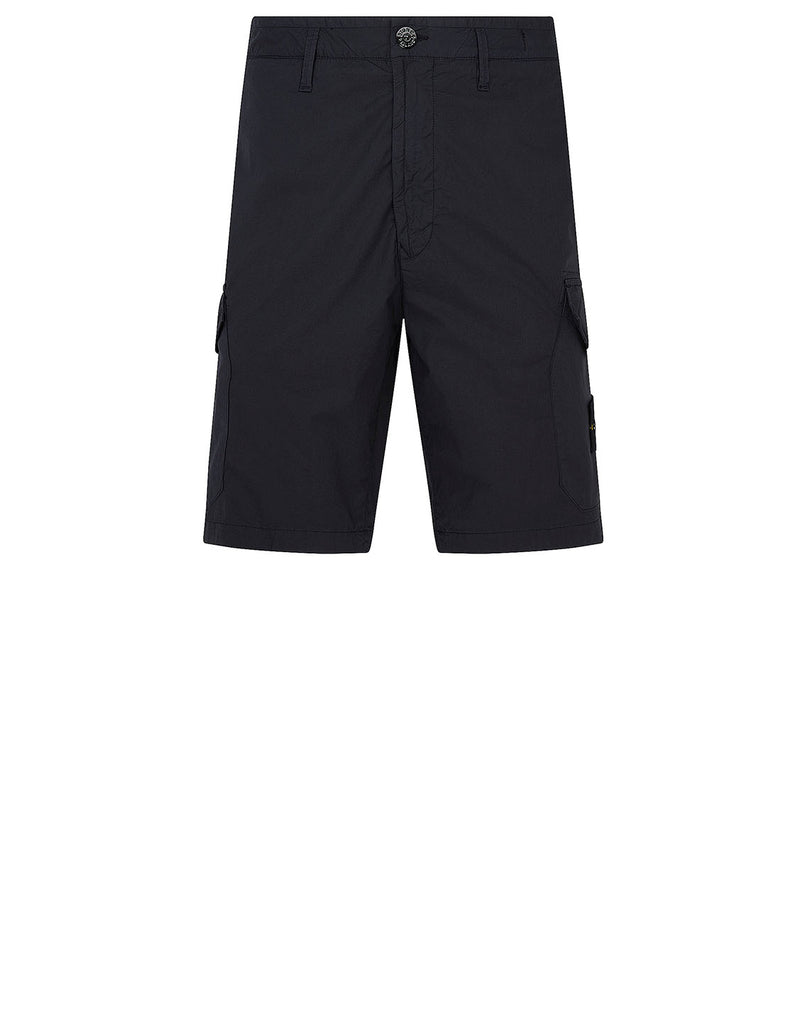 L0403 Bermuda Shorts in Navy Blue