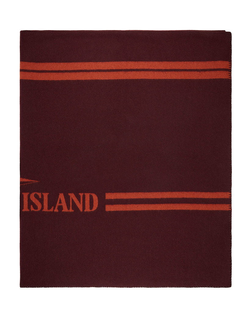 93068 Panno Jacquard Blanket in Dark Burgundy
